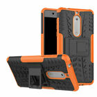 For Nokia 2 3 5 6 8 1 Case Rugged Shockproof Hybrid Kickstand Armor Phone Cover