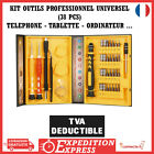 KIT OUTILS OUVERTURE IPHONE SAMSUNG / KIT TOURNEVIS REPARATION SMARTPHONE IPAD