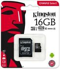 Kingston Micro SD Card 8 16 32 64 128 gb Flash Memory lot All Sizes Retail Pack