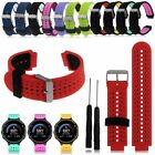 Silicone Watch Band Strap w/Tool for Garmin Forerunner 220 230 235 620...