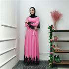 Dubai Abaya Women Lady Maxi Dress Muslim Islamic Arab Loose Kaftan Robes Gown