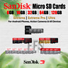 SanDisk Micro SD Card Extreme Pro Ultra 8/16/32/64/128GB Genuine Retail lot NEW