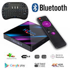 Lot H96 Max TV Box 16G Android9.0 Dual WiFi RK3318 Quad Core 4K Player Keyboard