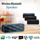 Wireless Bluetooth Speaker Subwoofer Super Bass Stereo Loudspeakers FM USB/TF
