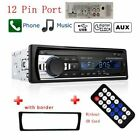 Aluminum In-Dash Car Radio 240*320 MP3 Player High Graded Quality Cars Accessory