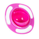 Baby Kids Infant Feeding Dishes Gyro Bowl Universal 360 Rotate Spill Proof Bowl