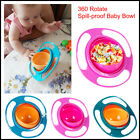 Kyпить Baby Kids Infant Feeding Dishes Gyro Bowl Universal 360 Rotate Spill Proof Bowl на еВаy.соm
