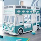 Campervan Kids Theme Bunk Bed with 4 Mattress Options