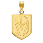 Gold Plated Sterling Silver Vegas Golden Knights Small Pendant $55.0 USD on eBay