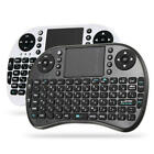 2.4G Wireless Hebrew Version Rechargeable Mini Keyboard Touchpad Air Mouse