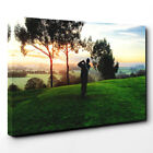 Canvas Wall Art Picture Print Golf Landscape