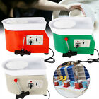 DIY Electric Pottery Wheel Machine Set For Ceramic Work Clay Art Craft 350W 25CM image