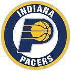 Indiana Pacers Circle Logo Vinyl Decal / Sticker 5 sizes!!