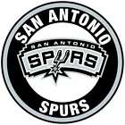 San Antonio Spurs Circle Logo Vinyl Decal / Sticker 5 sizes!!