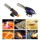 Blow Torch Butane Gas Flamethrower Burner-Welding Auto Ignition Soldering-Mental