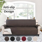 Sofa Cover Anti-Slip Couch Cushion Leather Easy Care Protector Living Room Pets
