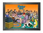 Family Guy Cartoon Characters Picture Griffin Family Spooner Street Photo Poster