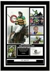 (#136) tony a.p. mccoy signed a4 photo mounted framed (reprint) ##############