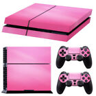 JQ_ Pink Decal Skin Decor Sticker for PS4 Playstation Controller Console Tool