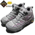 Merrell Moab 2 Mid GTX II Gore-Tex Grey Purple Women Outdoors Shoes Boots J06068
