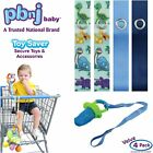 Pbnj Baby Toy Saver Strap Holder Leash Secure Accessories Heart/Dot/Pink/Lavende