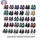 2 Front Universal Car Seat Covers Built-in Sponge Breathable Cushioned Washable $47.26 CAD on eBay