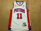 Detroit Pistons #11 Isiah Thomas Retro Basketball Jersey White Size: S - XXL on eBay
