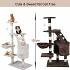 Large Cat Tree Scratch Scratcher Scratching Climbing Post Toy Activity Centre