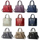 Women Leather Handbag Messenger Shoulder Bag Lady Tote Purse Crossbody Satchel image