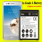 Crystal Clear TPU Case+Upgraded BL-45F1F Battery for LG Risio 2 M154 Cricket