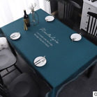 Spandex tablecloth rectangular coffee table home fabric table cover