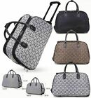 New Ladies Women's Wheeled Suitcase Travel Cabin Bag Holidays Holdall