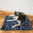 Printed Pet bed cushion Washable Blanket Dog Blue Warm High quality Comfortable
