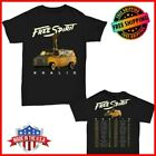 Khalid t Shirt Free Spirit world tour 2019 T-Shirt 2 side Men Black Gildan Size image