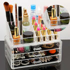 Cosmetic Organizer Acrylic Makeup Drawer Holder Jewellery Case Box Storage
