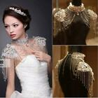New Lace Shining Rhinestones Prom/Wedding Bride Shoulder Chain Necklace Jewelry
