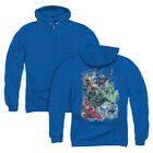 JLA JUSTICE LEAGUE #1 Licensed Zipper Hooded Sweatshirt Jacket SM-3XL $49.96 USD on eBay