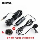 Condenser Microphone High Graded Quality Lavalier Microphones For DSLR Camcorder