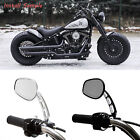 Edge Cut Wing Mirrors For Sportster 1200 Harley-Davidson Softail FXSTC FXST $39.15 USD on eBay