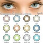 Внешний вид - 1 Pair of Halloween Series 12 Colors Cosmetic Contact Lenses Eyes Lady
