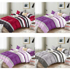 DCP 5-Piece bedding set Comforter Set Bed in a Bag,Stripes,Twin/Queen/King SIZE image