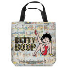BETTY BOOP VINTAGE STRIPS LIGHTWEIGHT TOTE BAG 2 SIDED PRINT $24.82 USD on eBay