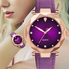 Luxury Solid Color Women Dress Watches Stainless Steel Dial Casual Wrist Watch image