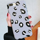 Leopard Animal Print Case Shockproof Silicone Cover For iPhone Samsung Huawei