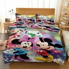 Mickey Mouse Green 3D Printing Duvet Quilt Doona Covers Pillow Case Bedding Sets image
