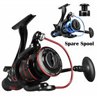 KastKing Baitfeeder Front & Rear Drag Spinning Fishing Reel + Free Spare Spool