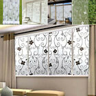 58F1 Bathroom Frosted Glass Sticker Window For Privacy Home Room Decorations
