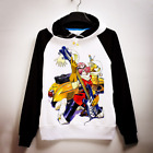 Anime Fooly Cooly FLCL Haruhara Hoodie Pullover Sweatshirt Cosplay Coat Unisex