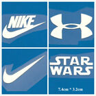 DIY Life Style Iron-on Luminous Stricker is1217 NIKE UNDER ARMOUR STAR WARS Logo $2.2 USD on eBay