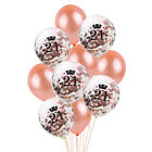 Wedding Happy Birthday Balloons Latex Foil Ballons Kids Baby Party Holiday Decor